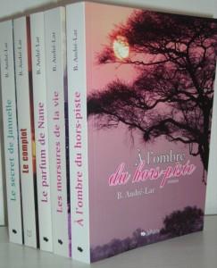 Quelques romans de Brigitte André-Lar