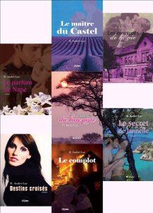 Les romans de Brigitte André-Lar