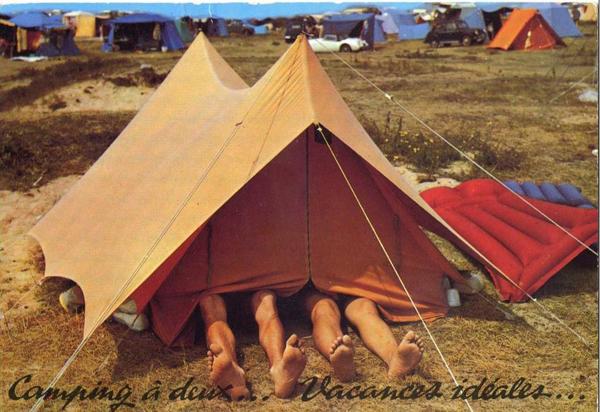Les joies du camping
