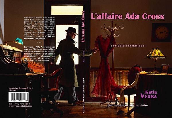Couverture de L'affaire Ada Cross de Katia-Verba