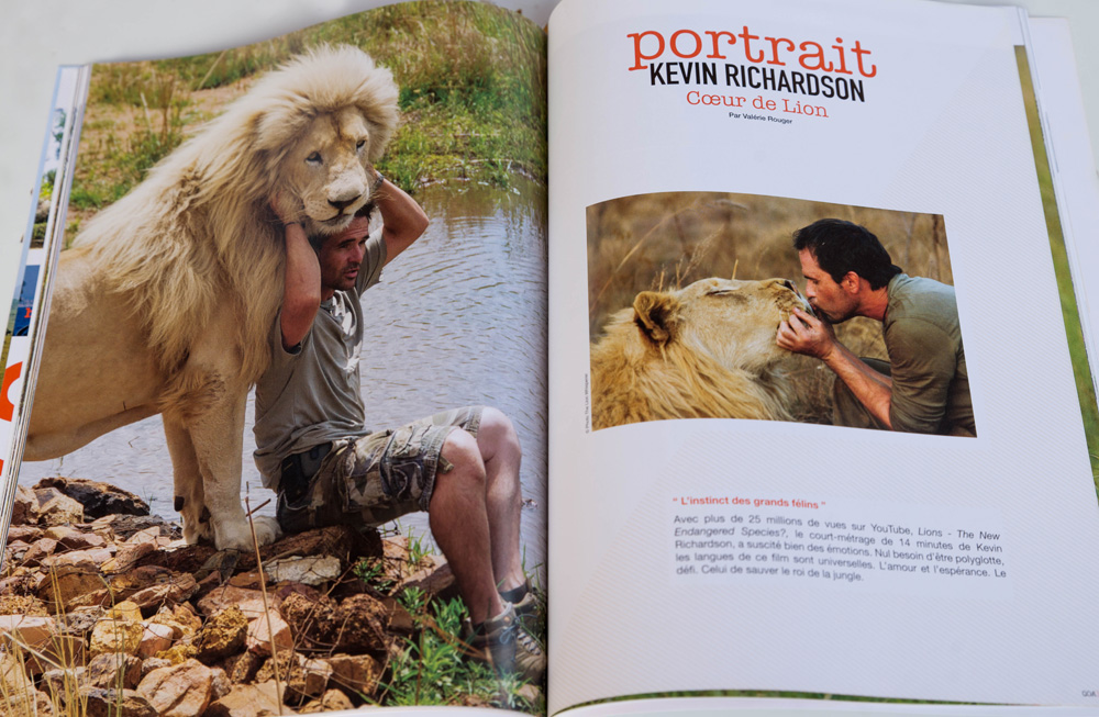 QOA Magazine Kevin Richardson