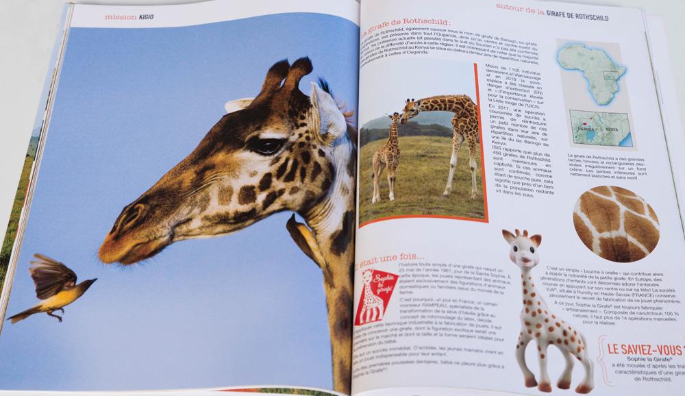 QOA Magazine mission Kigio Girafe de Rothshchild
